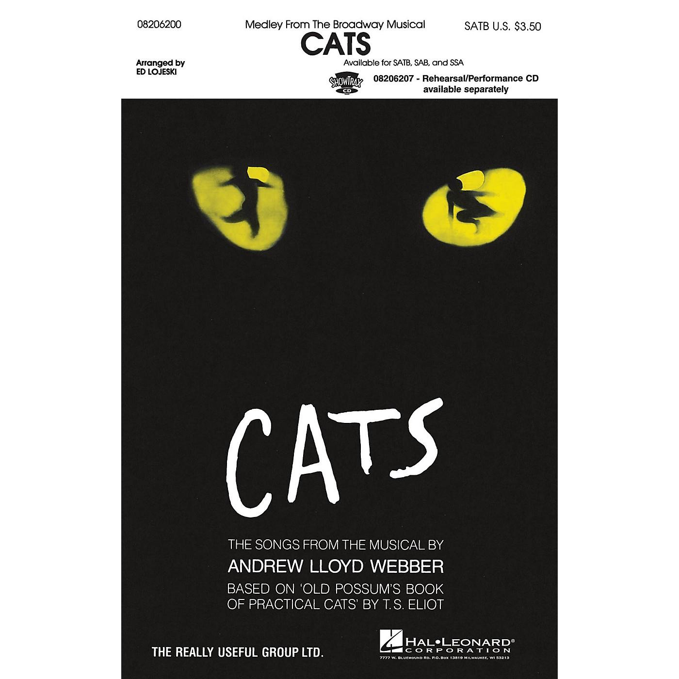 Hal Leonard Cats (Medley) SAB Arranged by Ed Lojeski thumbnail