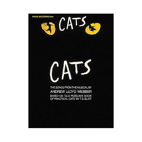Hal Leonard Cats Vocal Selection From arranged for piano, vocal, and guitar (P/V/G) thumbnail