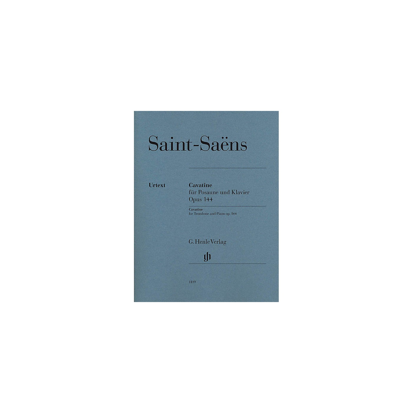G. Henle Verlag Cavatine, Op. 144 Henle Music Folios Softcover Composed by Camille Saint-Saens Edited by Dominik Rahmer thumbnail