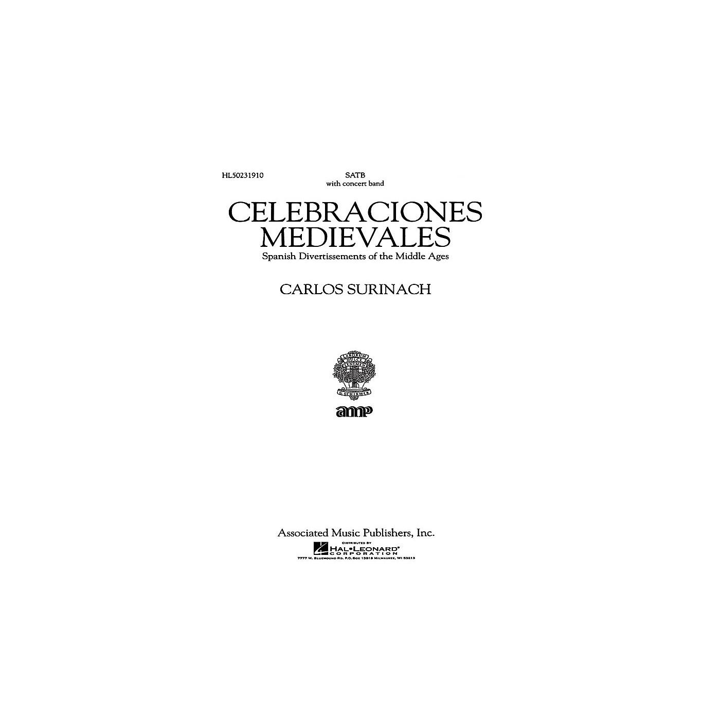 Associated Celebraciones Medievales (Vocal Score) SATB Score composed by Carlos Surinach thumbnail