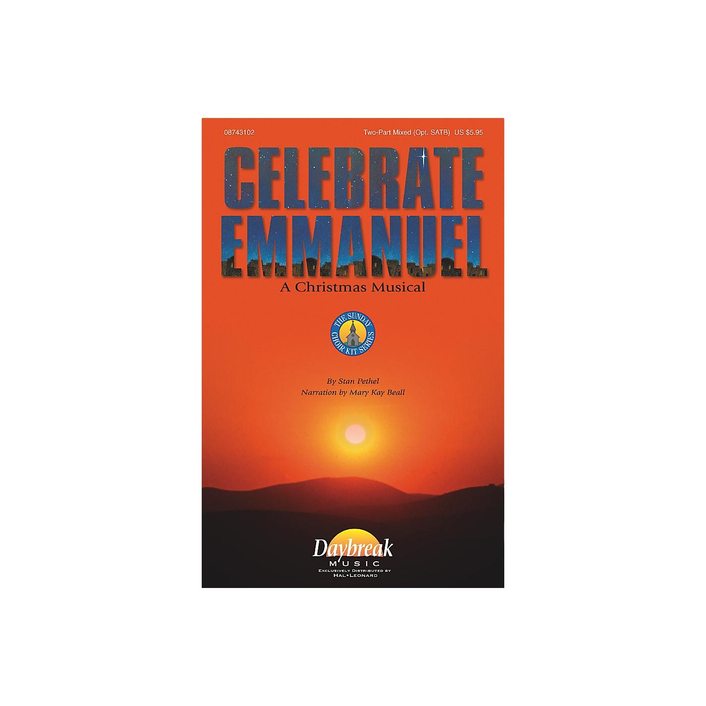 Daybreak Music Celebrate Emmanuel (Preview Pak) Preview Pak Composed by Stan Pethel thumbnail
