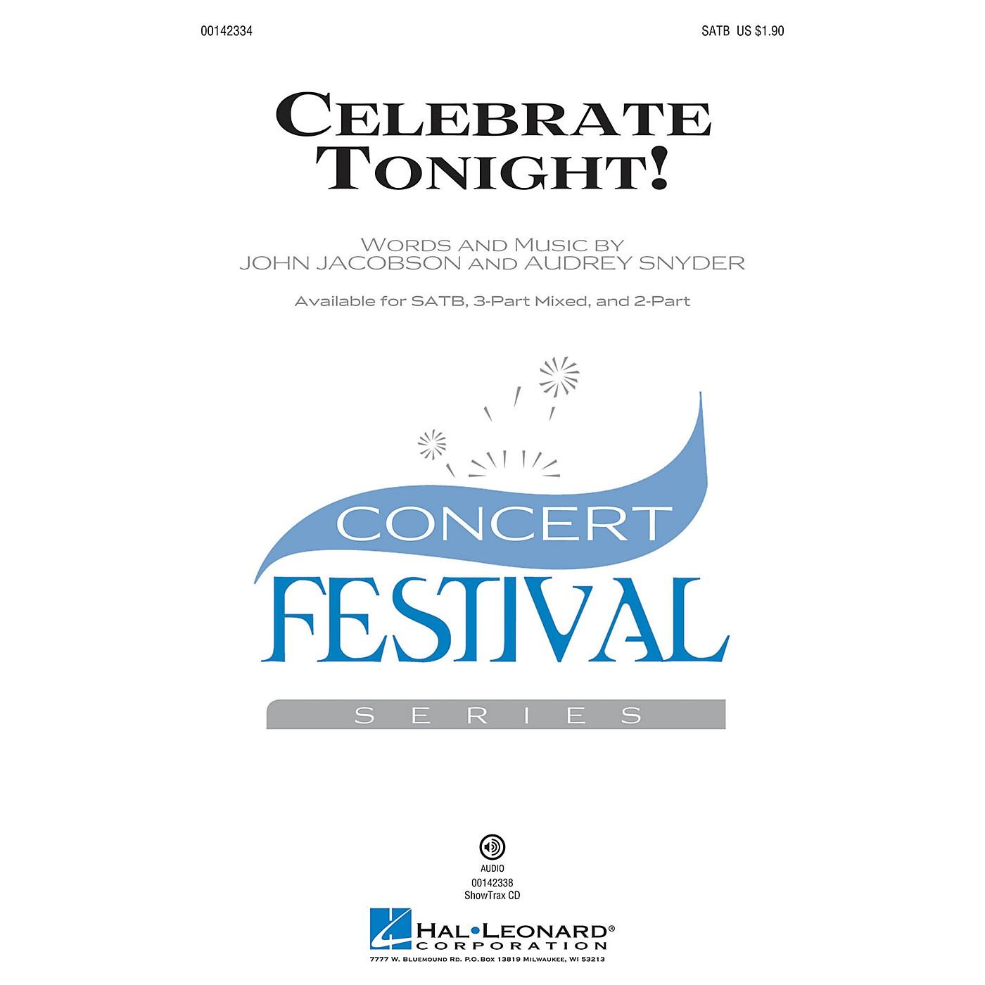 Hal Leonard Celebrate Tonight! SATB composed by John Jacobson thumbnail