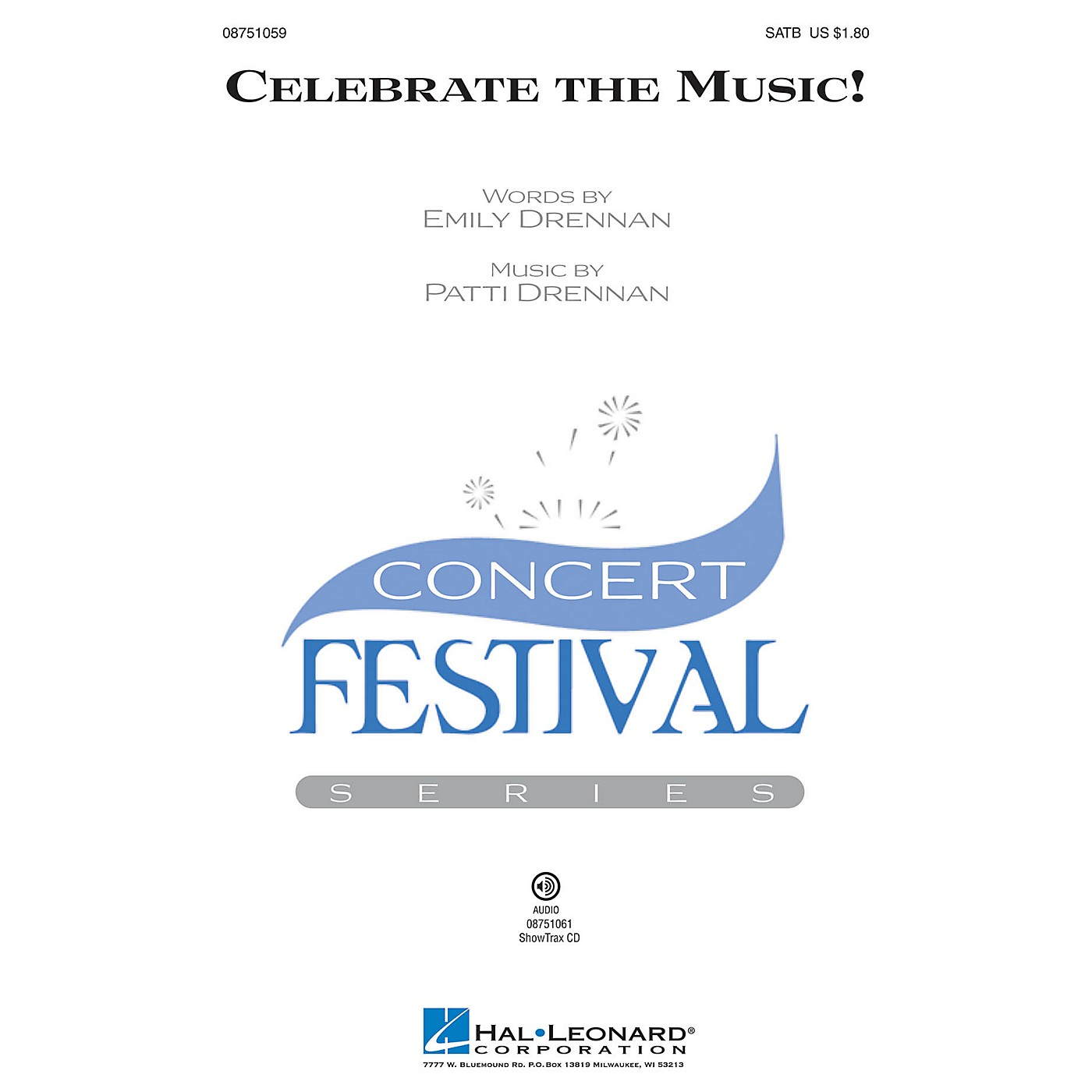 Hal Leonard Celebrate the Music! SATB composed by Patti Drennan thumbnail