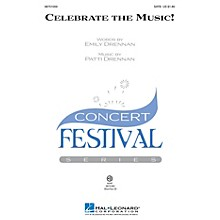 Hal Leonard Celebrate the Music! ShowTrax CD Composed by Patti Drennan