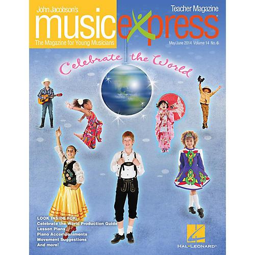 Hal Leonard Celebrate the World Vol. 14 No. 6 Teacher Magazine w/CD by Duke Ellington Arranged by Emily Crocker thumbnail