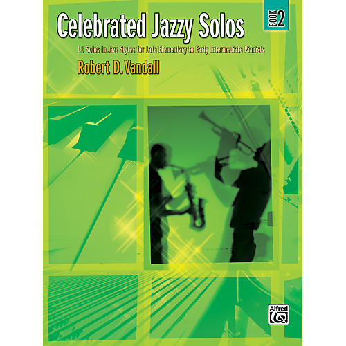 Alfred Celebrated Jazzy Solos Book 2-thumbnail