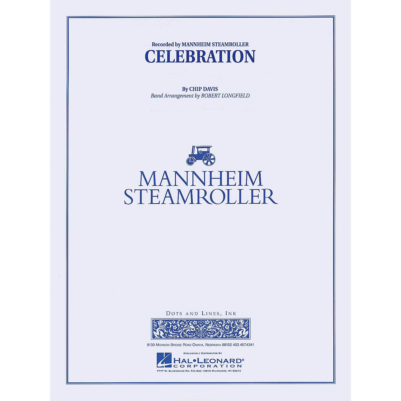Mannheim Steamroller Celebration Concert Band Level 3-4 by Mannheim Steamroller Arranged by Robert Longfield thumbnail