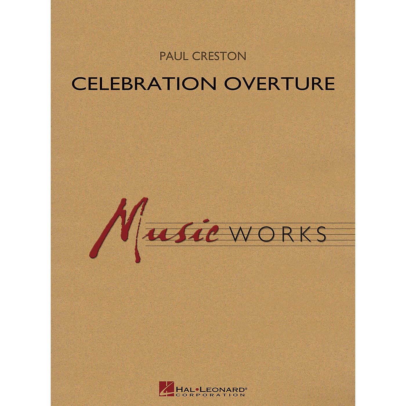 Hal Leonard Celebration Overture, Op. 61 (Revised Edition) Concert Band Level 5 Composed by Paul Creston thumbnail