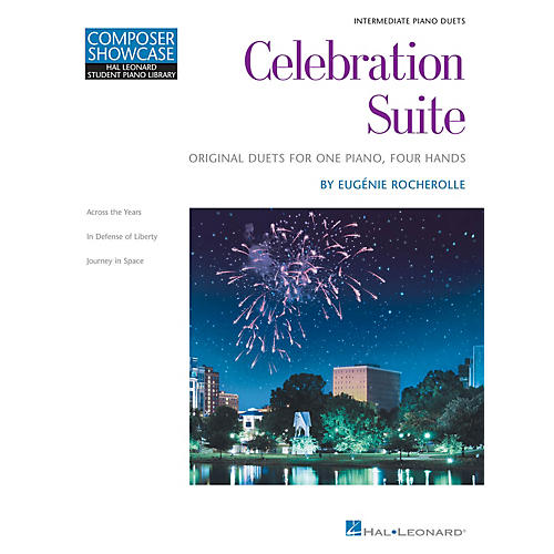 Hal Leonard Celebration Suite Educational Piano Library Series Softcover Composed by Eugénie Rocherolle thumbnail