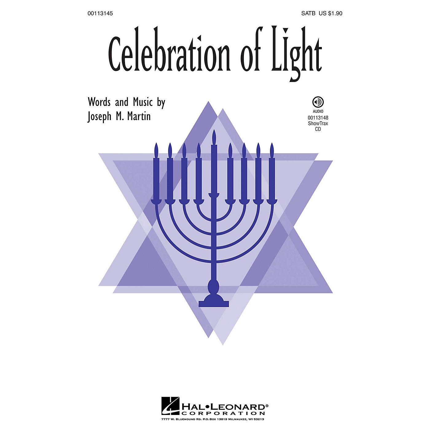 Hal Leonard Celebration of Light ShowTrax CD Composed by Joseph Martin thumbnail