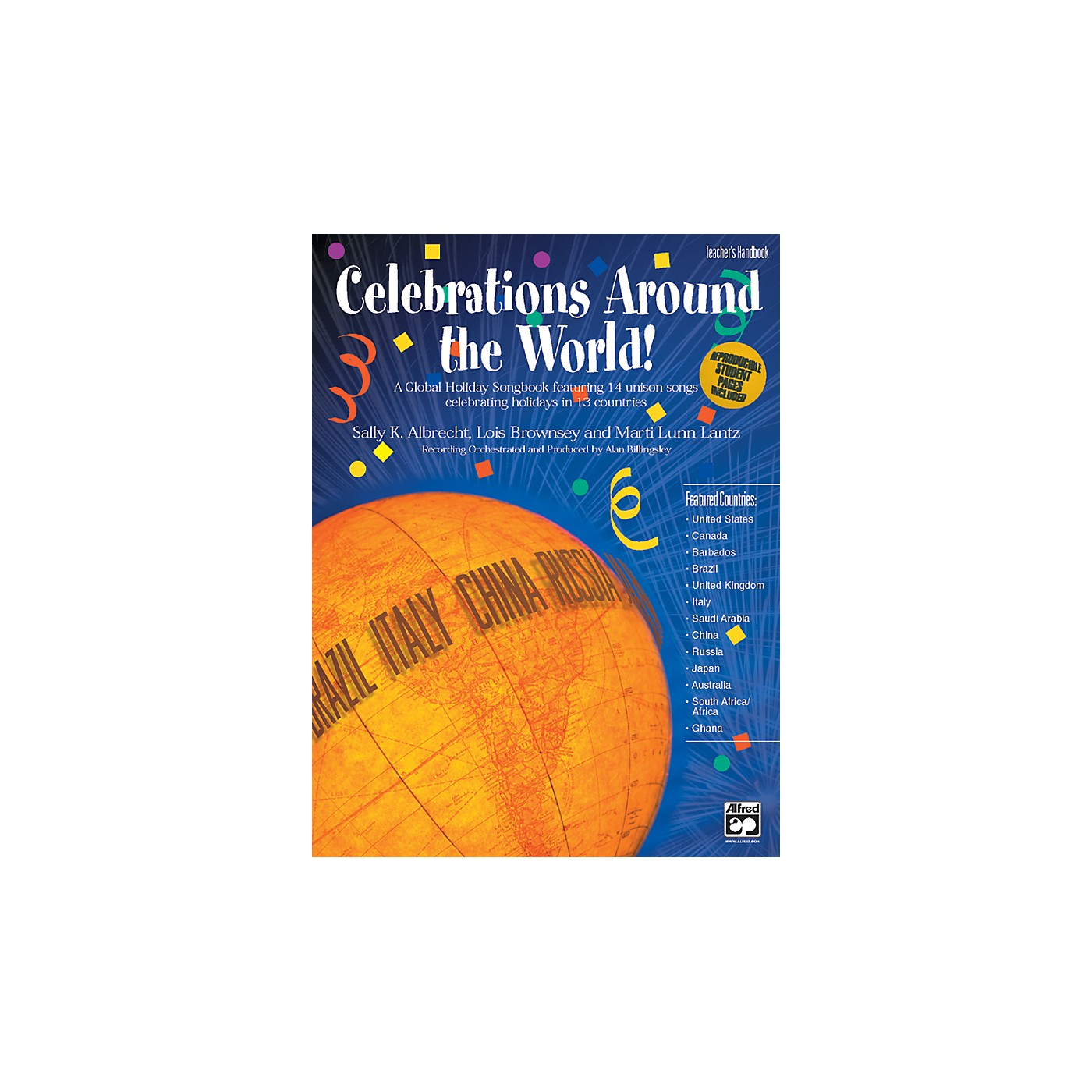 Alfred Celebrations Around the World! A Global Holiday Songbook Teacher's Handbook thumbnail