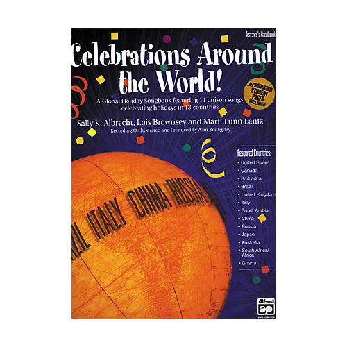 Alfred Celebrations Around the World! SoundTrax CD thumbnail