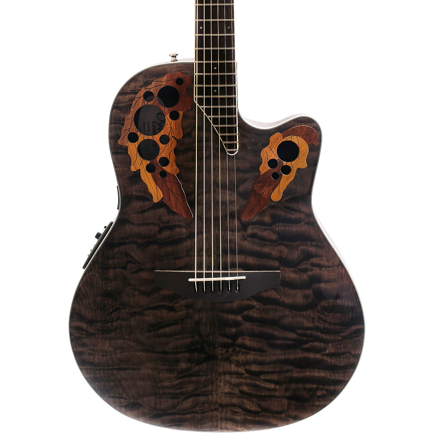 Ovation Celebrity Elite Exotic Super Shallow Acoustic-Electric Guitar thumbnail