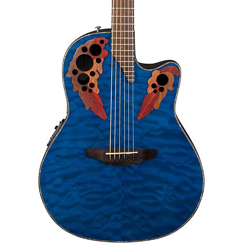 Ovation Celebrity Elite Plus Acoustic-Electric Guitar thumbnail