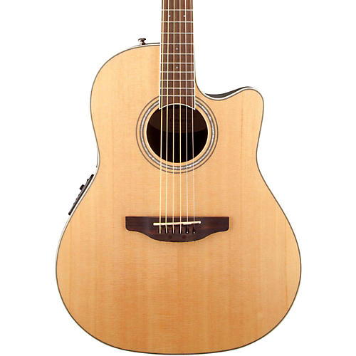 Ovation Celebrity Standard Mid-Depth Cutaway Acoustic-Electric Guitar thumbnail