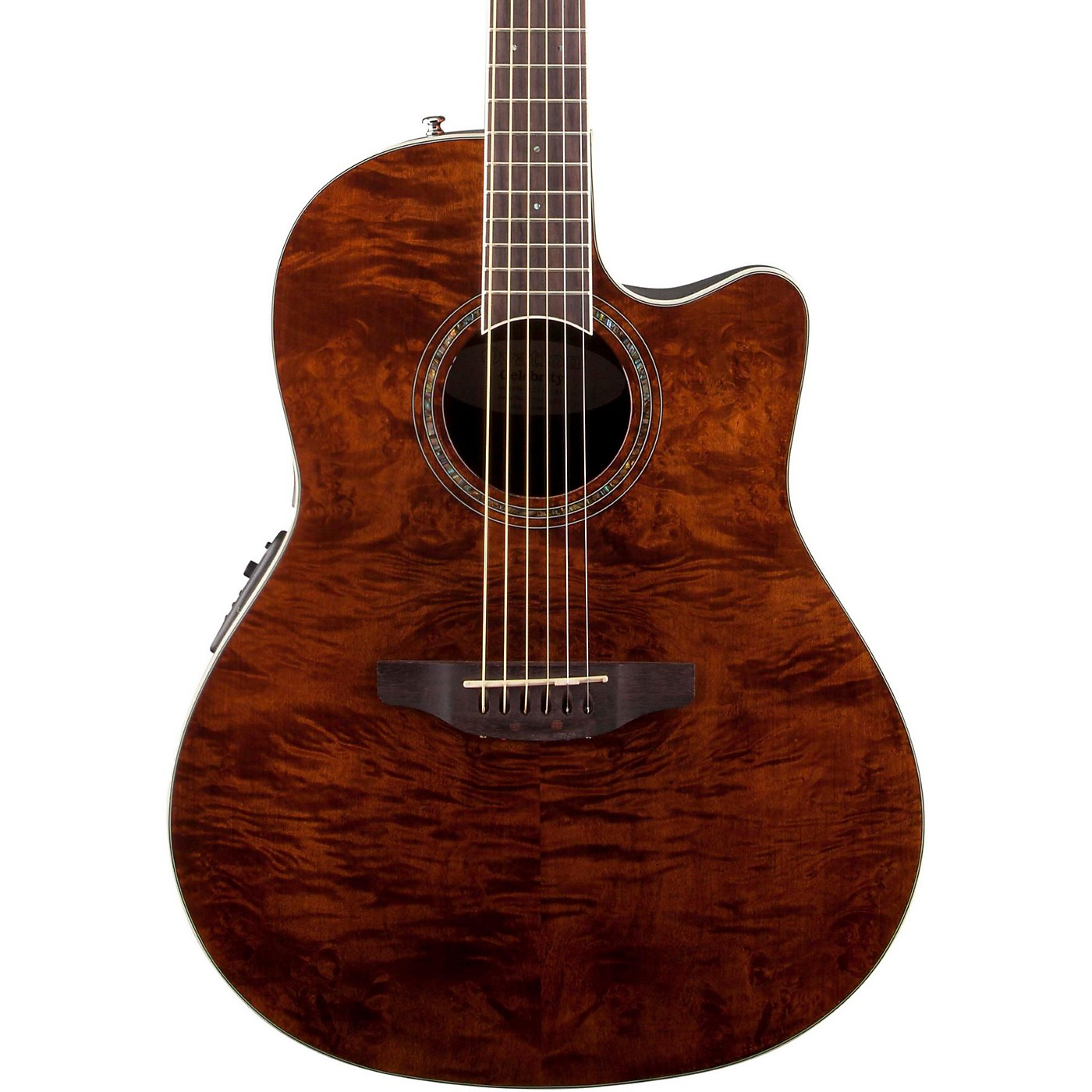 Ovation Celebrity Standard Plus Mid Depth Cutaway Acoustic-Electric Guitar thumbnail