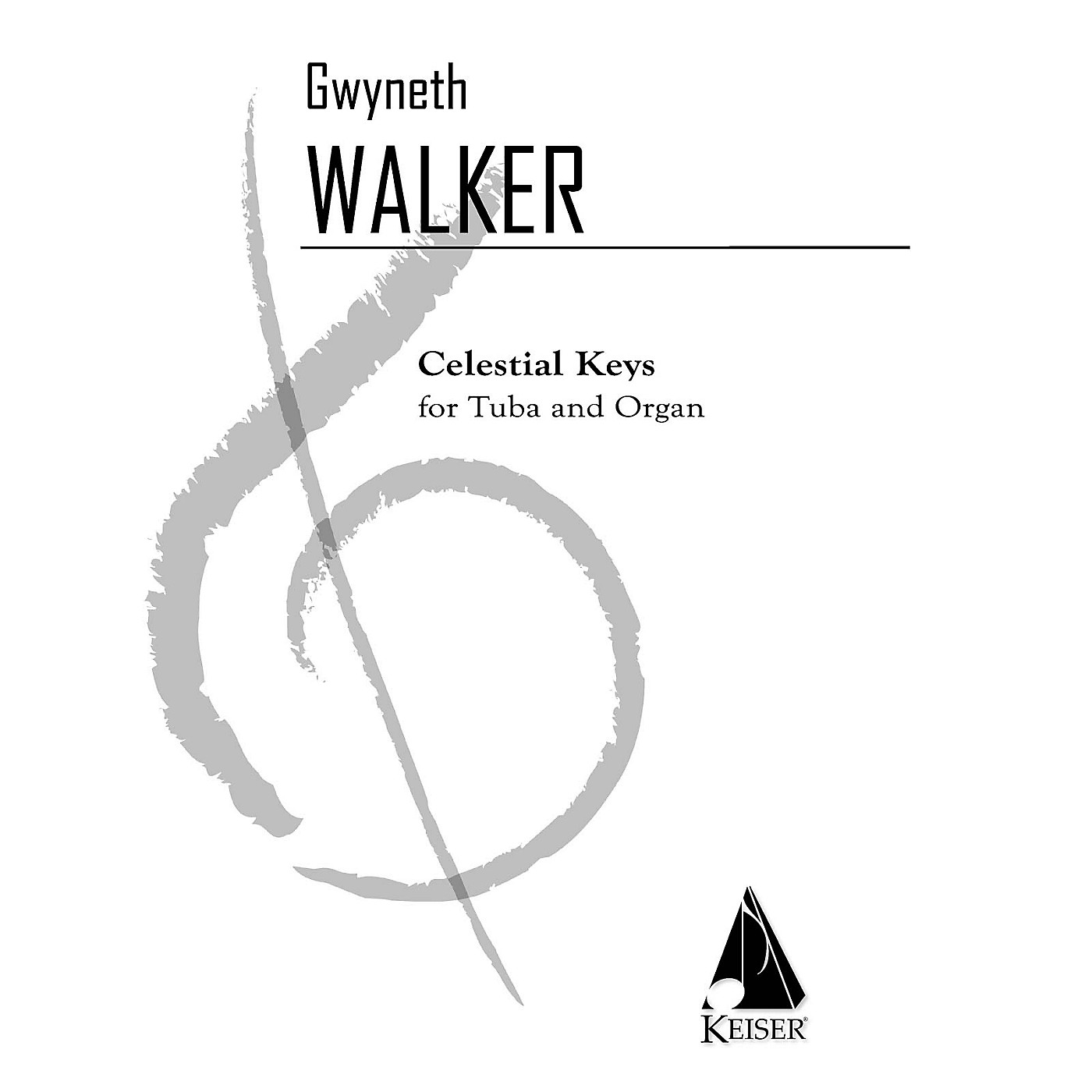 Lauren Keiser Music Publishing Celestial Keys (Tuba and Piano) LKM Music Series Composed by Gwyneth Walker thumbnail