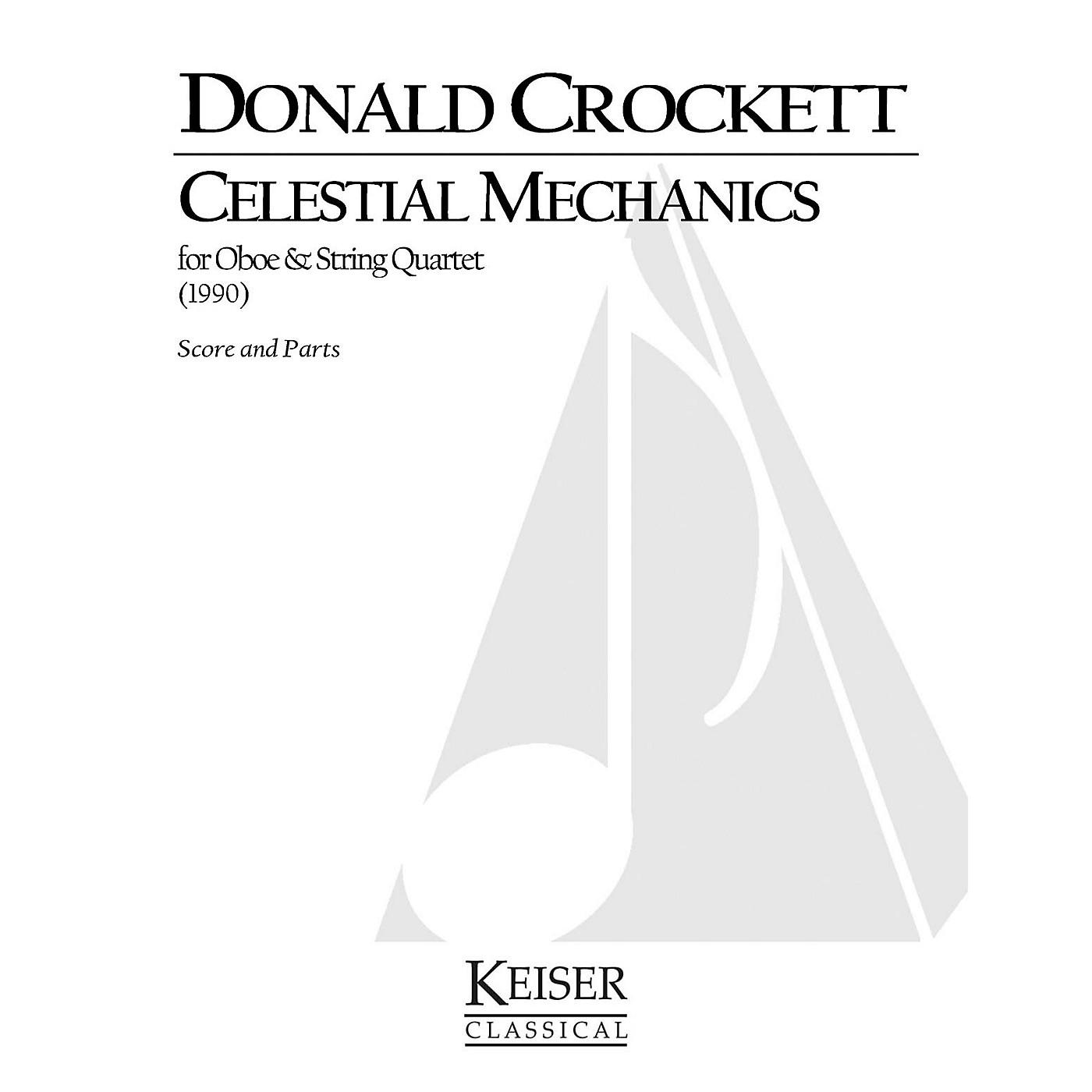 Lauren Keiser Music Publishing Celestial Mechanics (for Oboe and String Quartet) LKM Music Series by Donald Crockett thumbnail