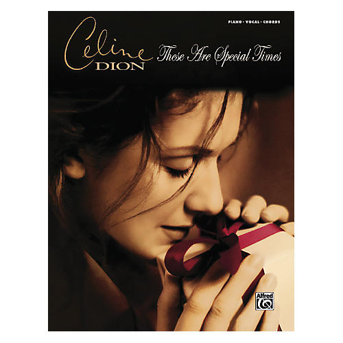 Alfred Celine Dion These Are Special Times PVC Book thumbnail