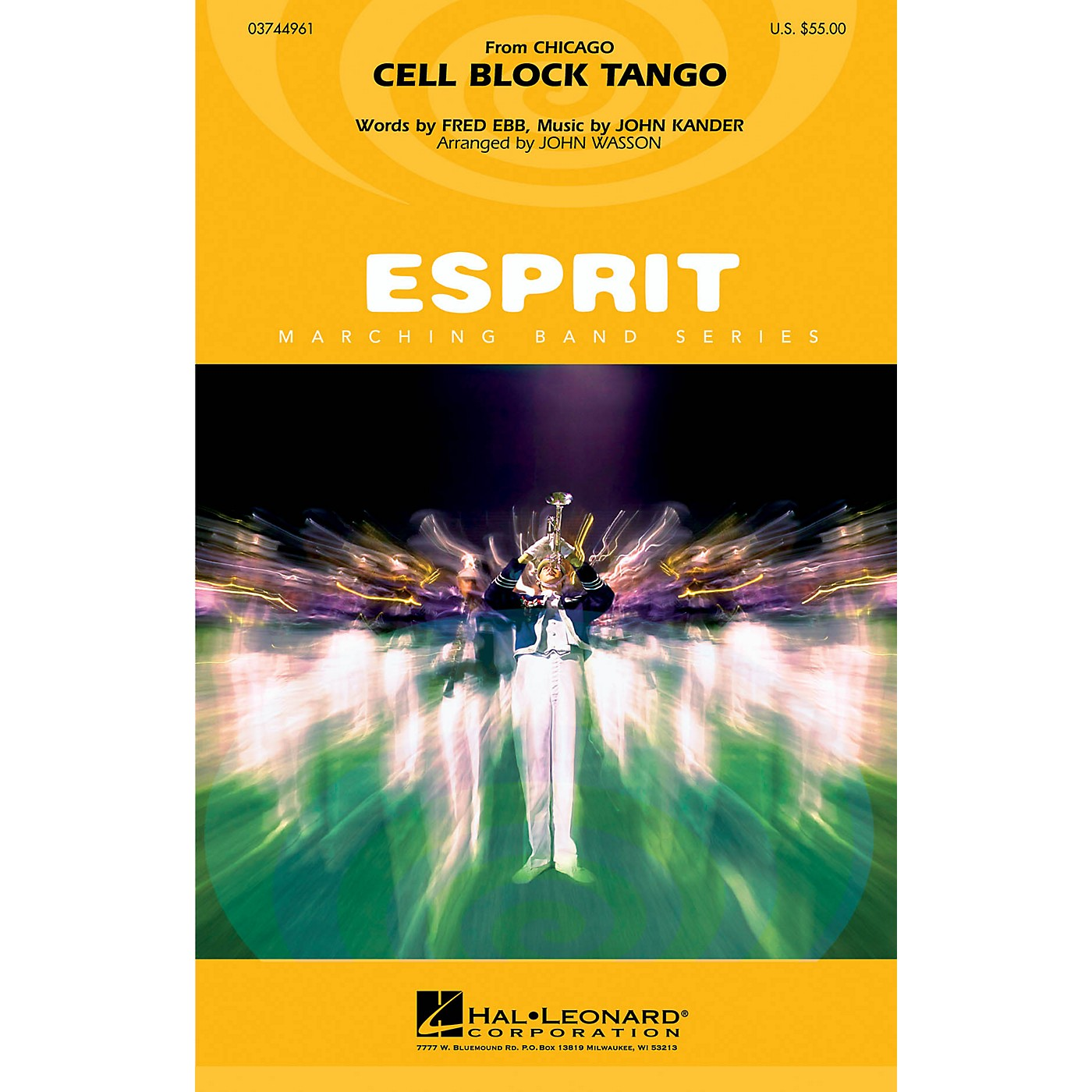 Hal Leonard Cell Block Tango (from Chicago) Marching Band Level 3 Arranged by John Wasson thumbnail