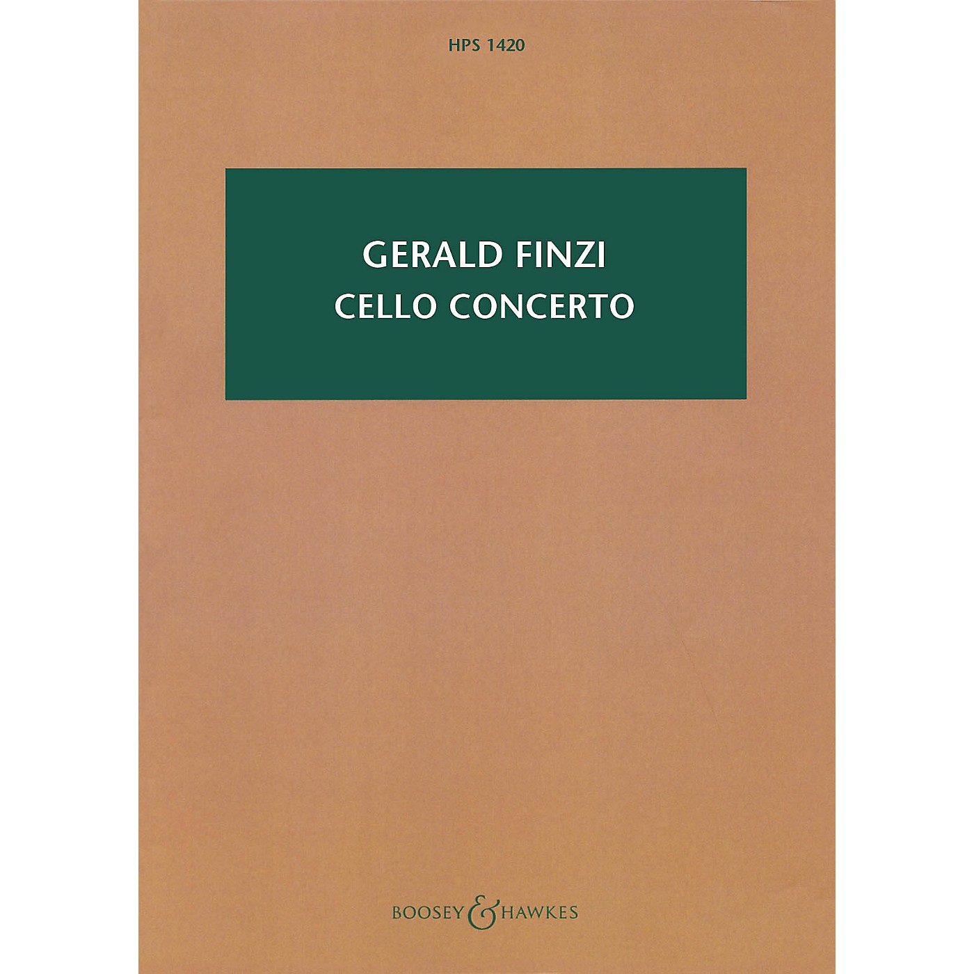 Boosey and Hawkes Cello Concerto (Revised 2009 Study Score) Boosey & Hawkes Scores/Books Series Softcover by Gerald Finzi thumbnail
