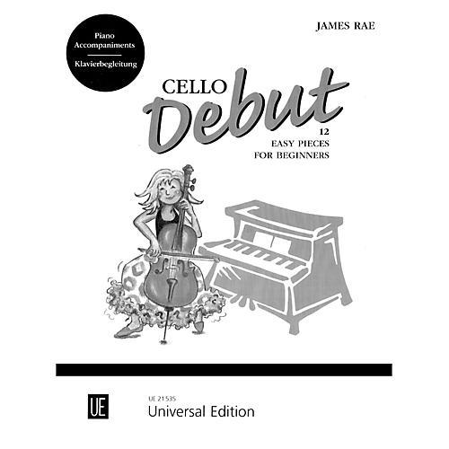 Carl Fischer Cello Debut - Piano Accompaniment (Book) thumbnail