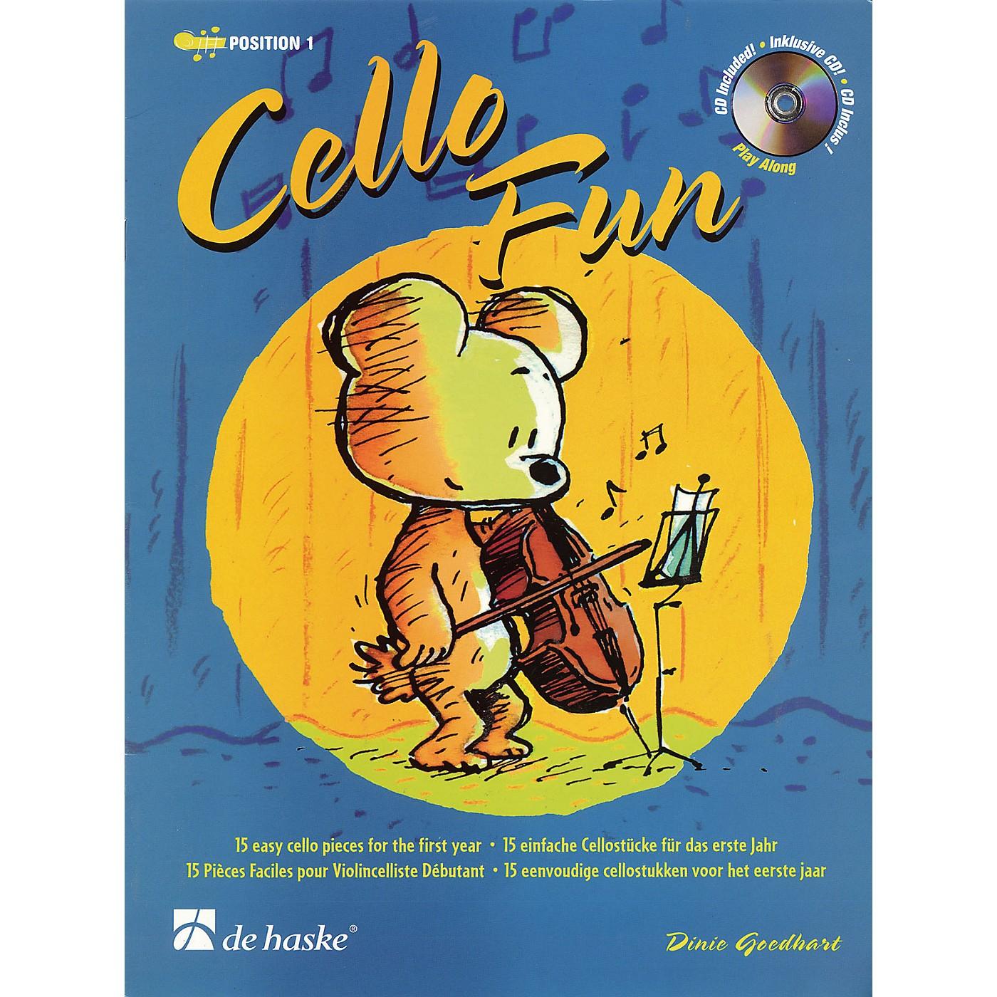 De Haske Music Cello Fun (15 Easy Cello Pieces for the First Year) De Haske Play-Along Book Series thumbnail