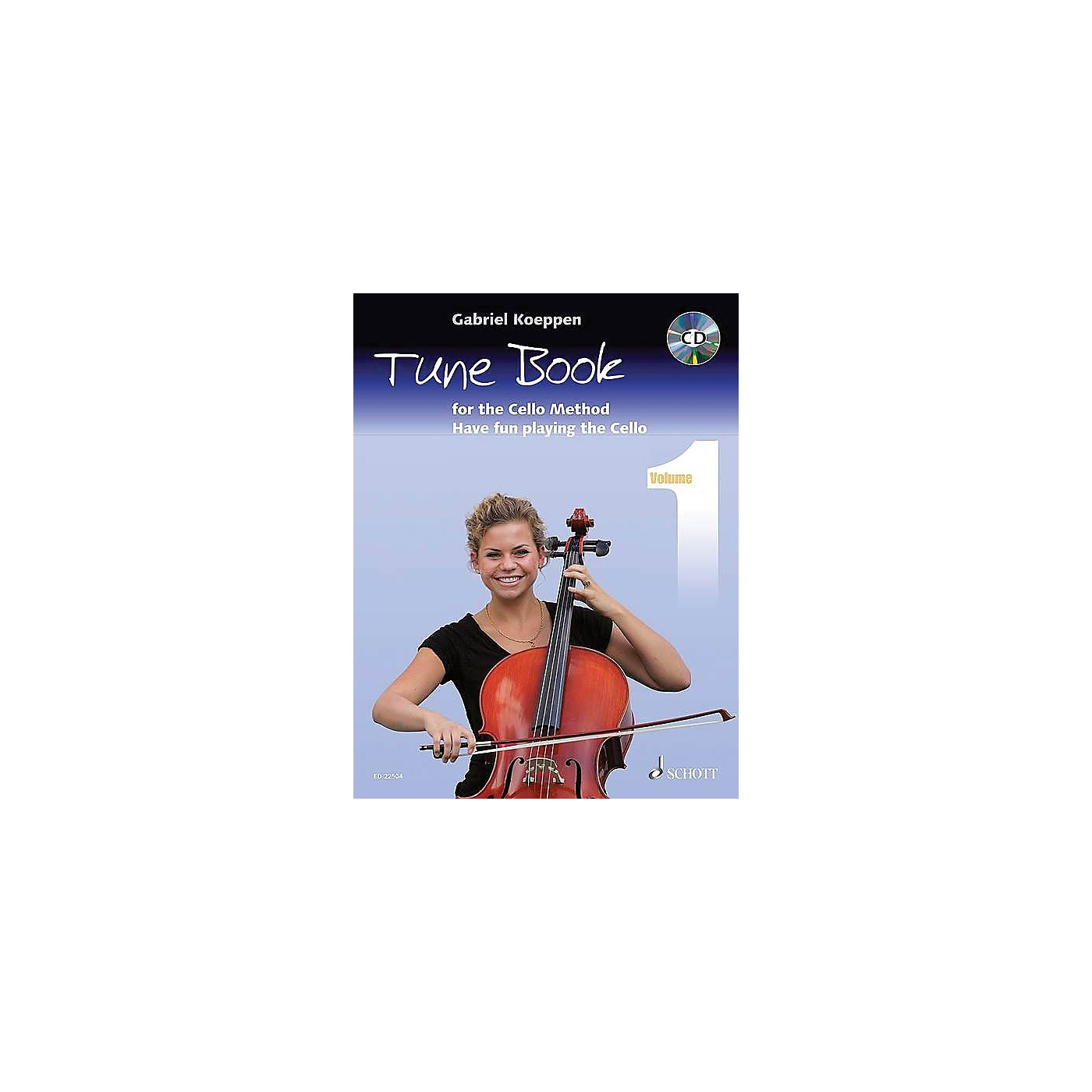 Schott Cello Method - Tune Book 1 String Series Softcover with CD Written by Gabriel Koeppen thumbnail