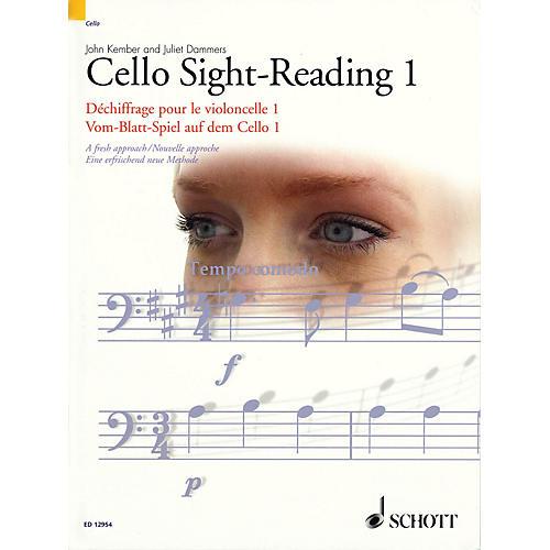 Schott Cello Sight-Reading 1 Misc Series Written by John Kember thumbnail