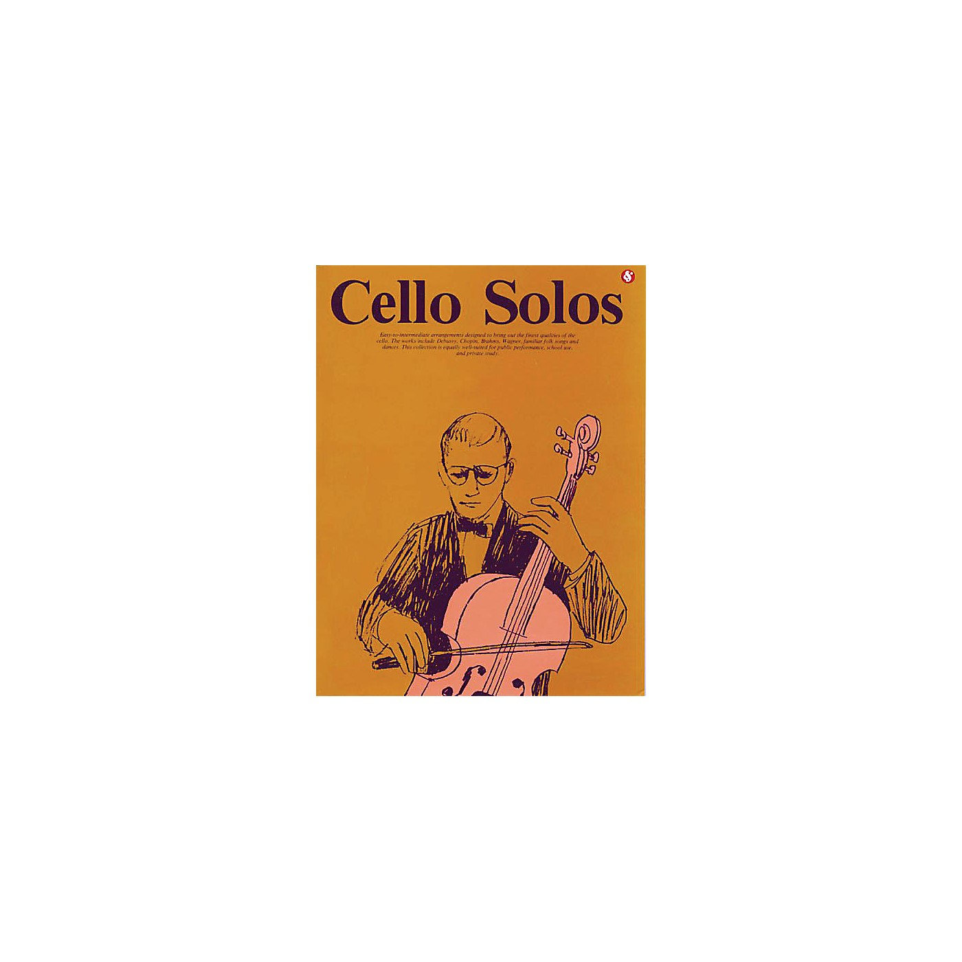Music Sales Cello Solos (Everybody's Favorite Series, Volume 40) Music Sales America Series Softcover thumbnail