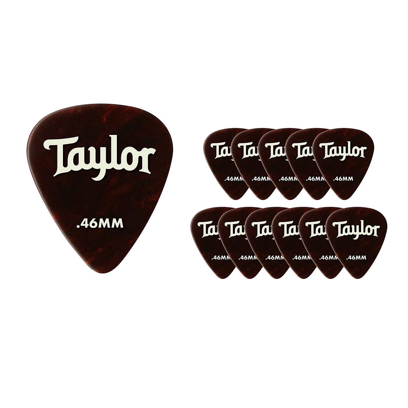Taylor Celluloid 351 Picks Tortoise Shell thumbnail