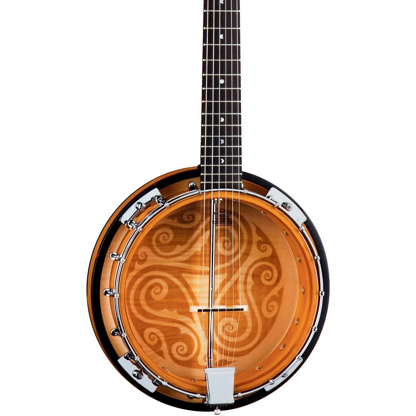 Luna Guitars Celtic 6-String Banjo thumbnail