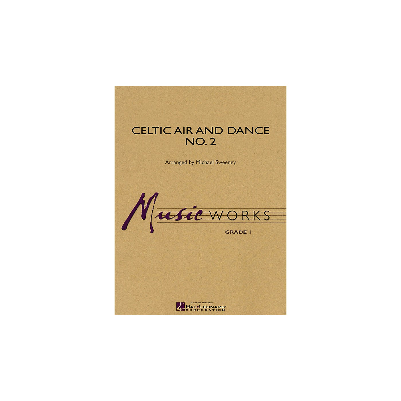 Hal Leonard Celtic Air and Dance No. 2 Concert Band Level 1.5 Arranged by Michael Sweeney thumbnail