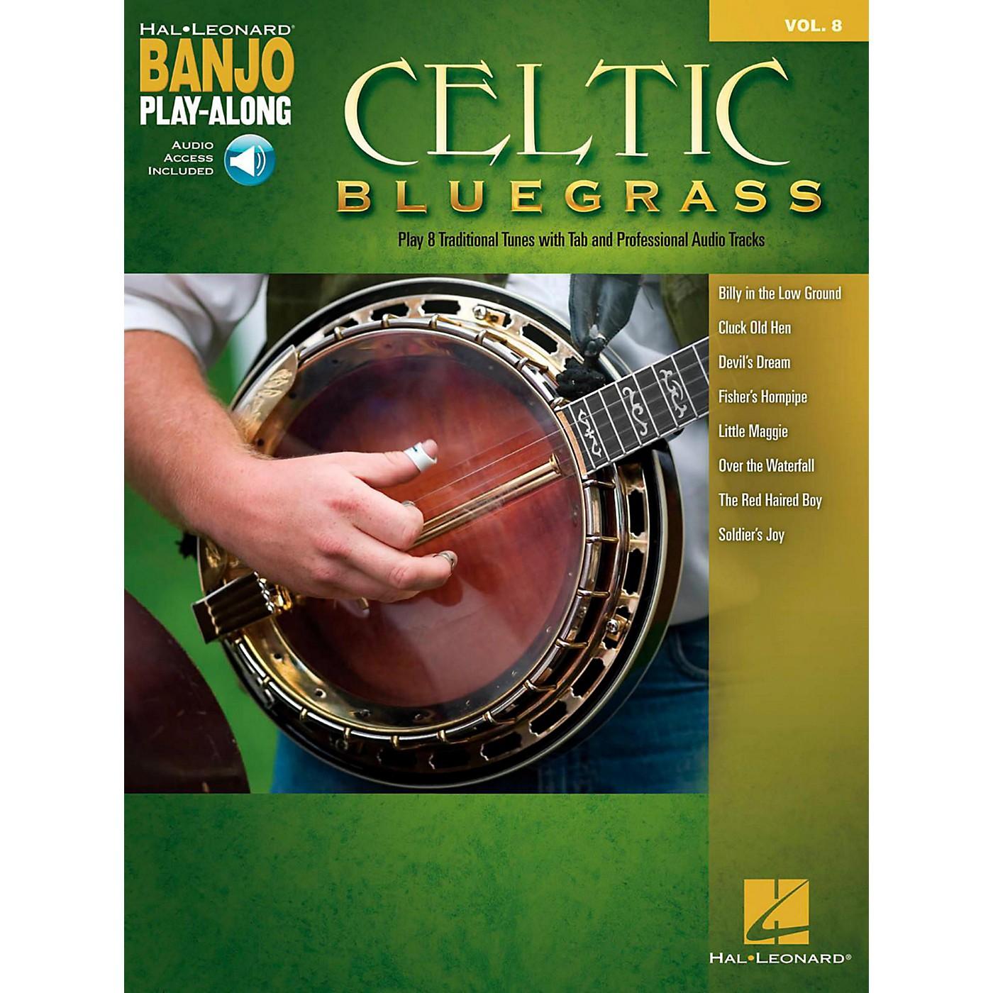 Hal Leonard Celtic Bluegrass - Banjo Play-Along Vol. 8 (Book/Audio Online) thumbnail