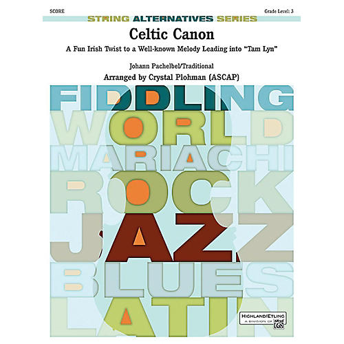 Alfred Celtic Canon String Orchestra Grade 3 Set thumbnail