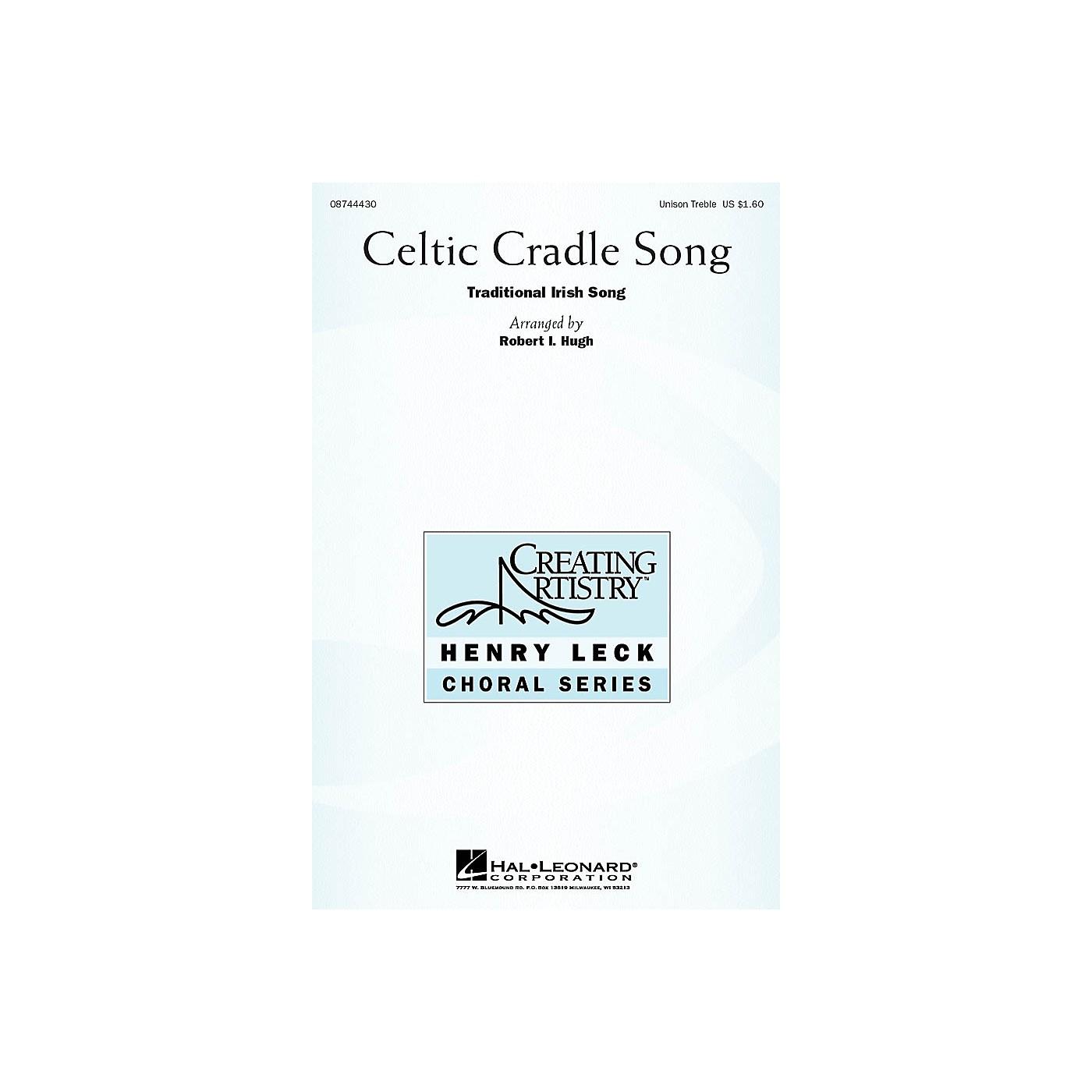 Hal Leonard Celtic Cradle Song UNIS arranged by Robert Hugh thumbnail