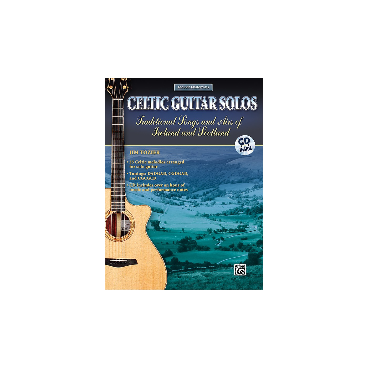 Alfred Celtic Guitar Solos Book with CD thumbnail