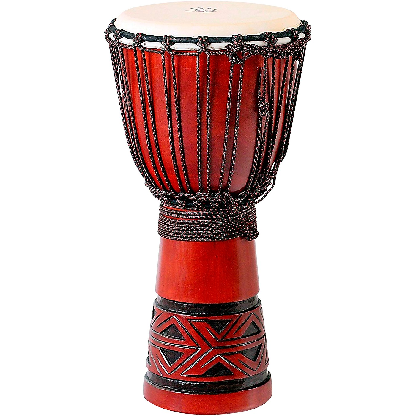 X8 Drums Celtic Labyrinth Djembe Drum thumbnail