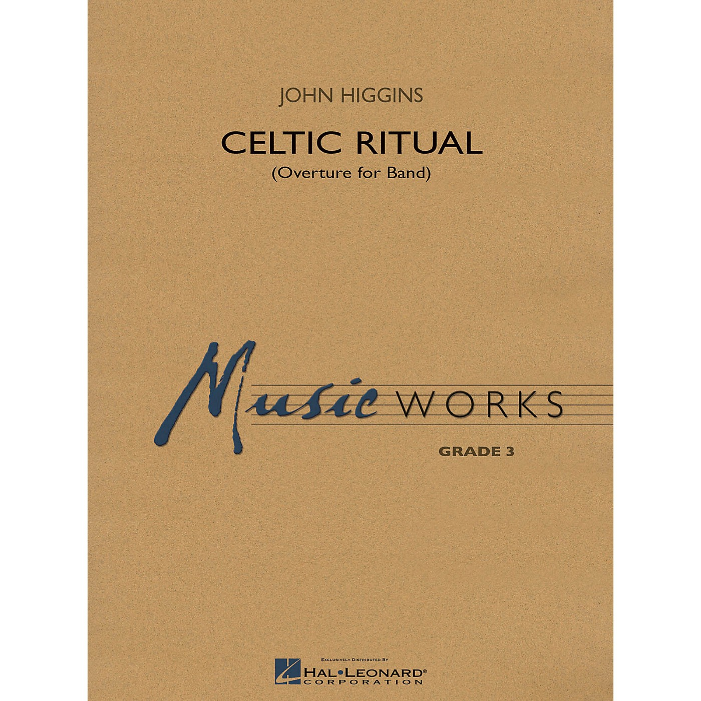 Hal Leonard Celtic Ritual (MusicWorks Grade 3) Concert Band Level 3 Composed by John Higgins thumbnail