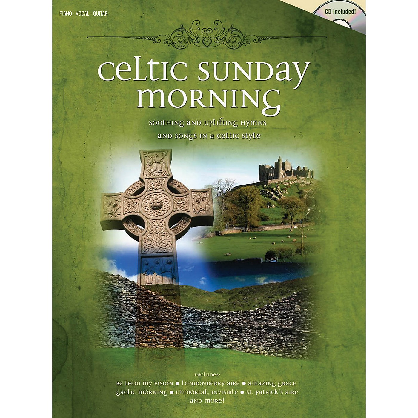 Shawnee Press Celtic Sunday Morning (Soothing and Uplifting Hymns and Songs in a Celtic Style) Composed by Various thumbnail