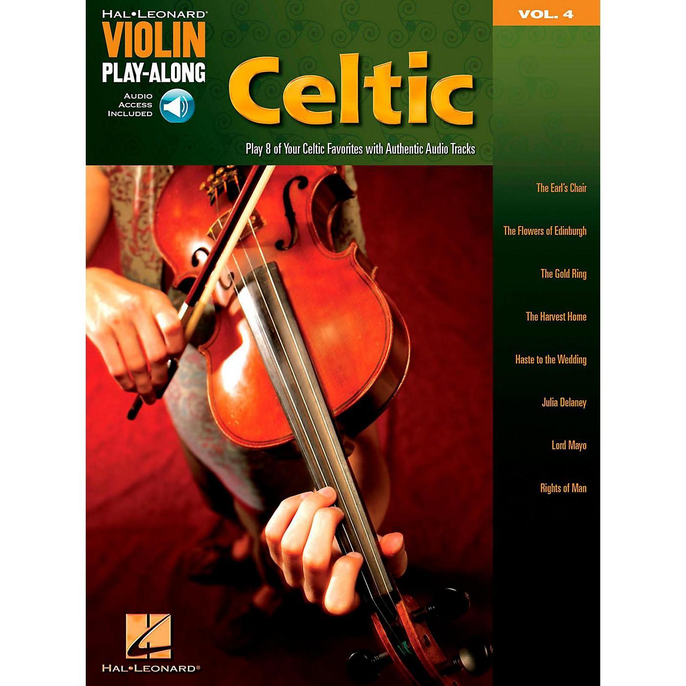 Hal Leonard Celtic Violin Play-Along Volume 4 Book/Online Audio thumbnail