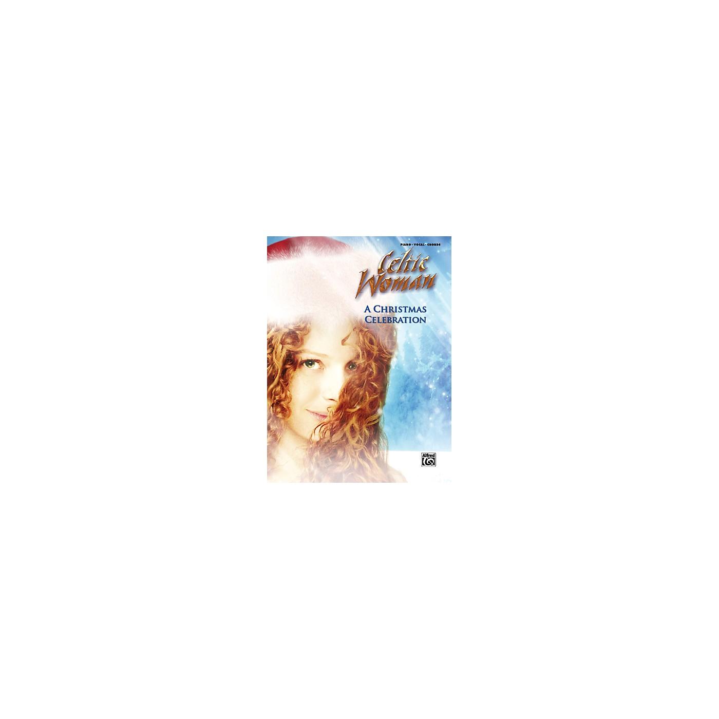 Alfred Celtic Woman A Christmas Celebration PVC Book thumbnail