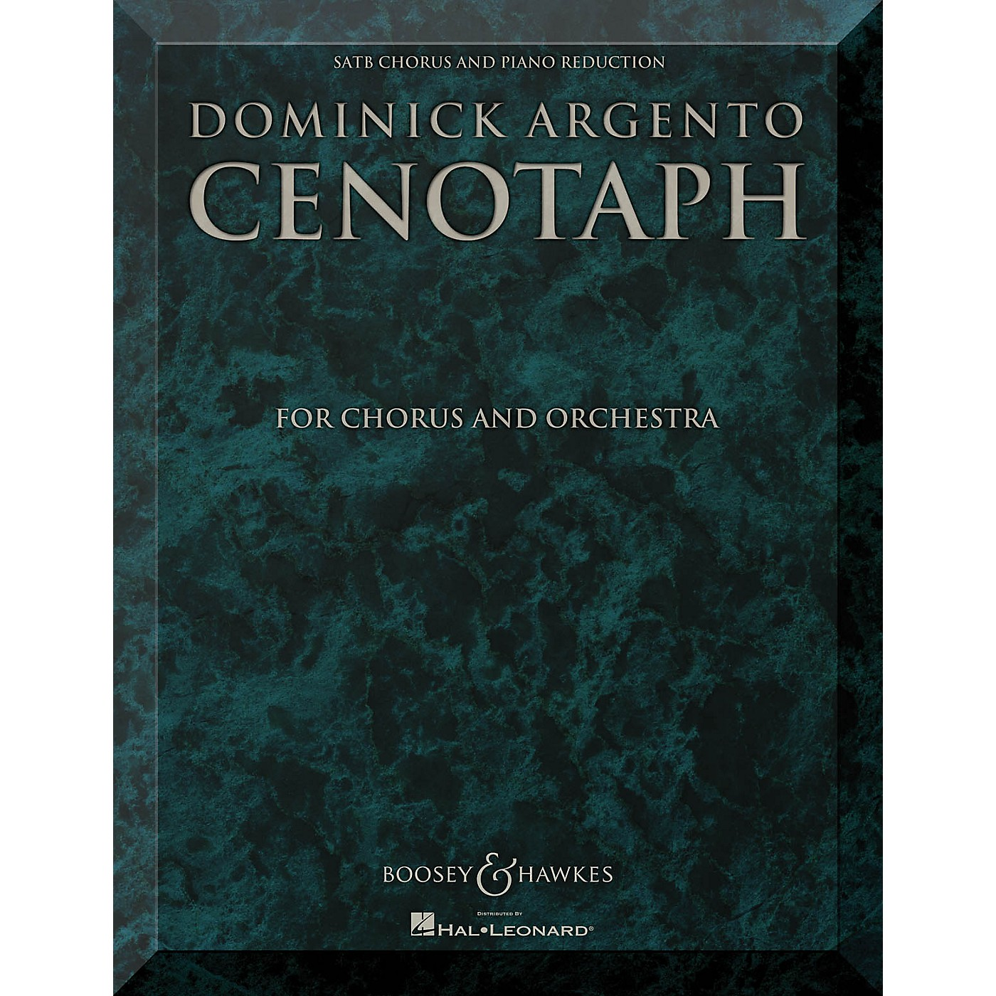 Boosey and Hawkes Cenotaph (Chorus and Orchestra SATB Chorus and Piano Reduction Vocal Score) composed by Dominick Argento thumbnail