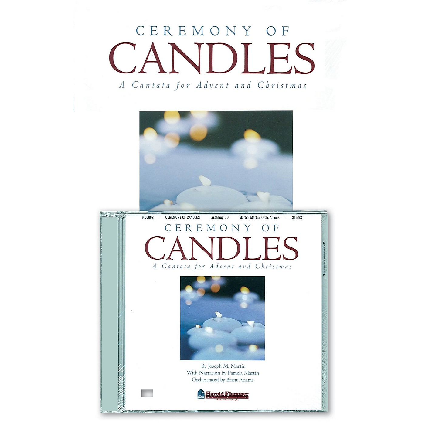 Shawnee Press Ceremony of Candles (Preview Pak (Book/CD)) PREVIEW PAK CD composed by Joseph M. Martin thumbnail