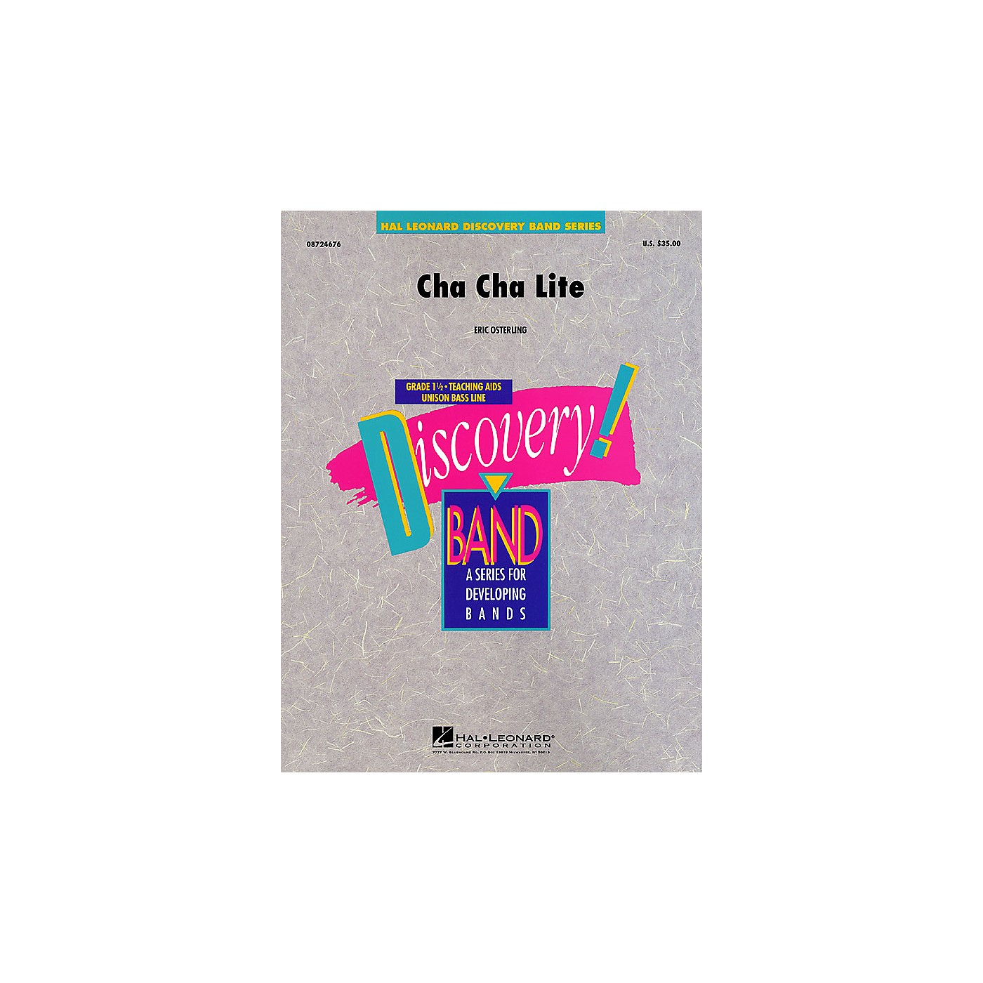 Hal Leonard Cha Cha Lite Concert Band Level 1 1/2 Composed by Eric Osterling thumbnail