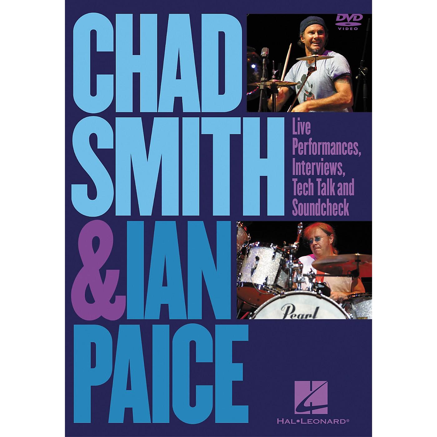 Hal Leonard Chad Smith and Ian Paice (DVD) thumbnail