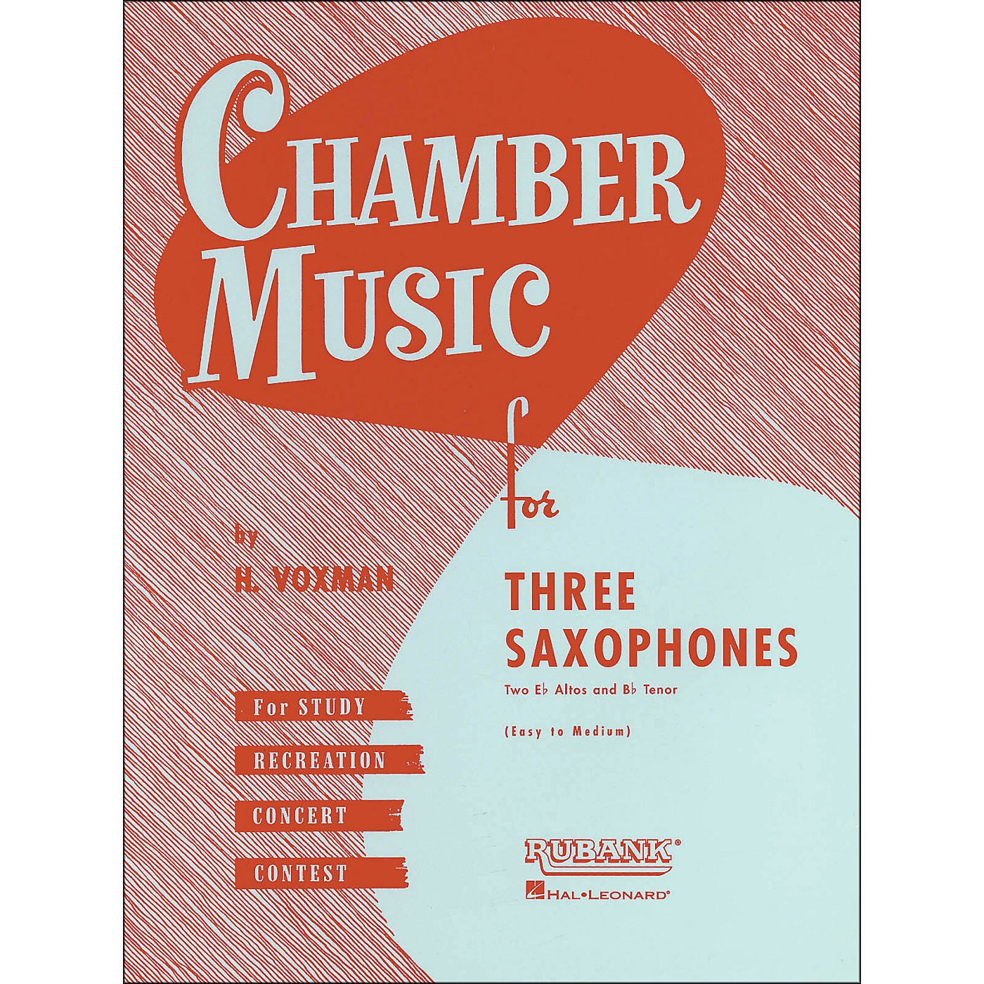 Hal Leonard Chamber Music Series Three Saxophones Two Altos And Tenor - Easy To Medium thumbnail