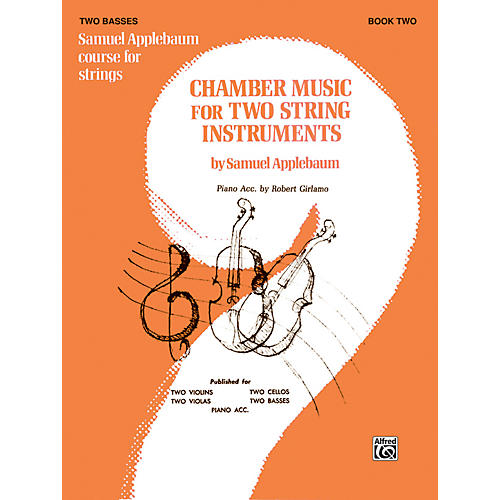 Alfred Chamber Music for Two String Instruments Book II 2 Basses thumbnail