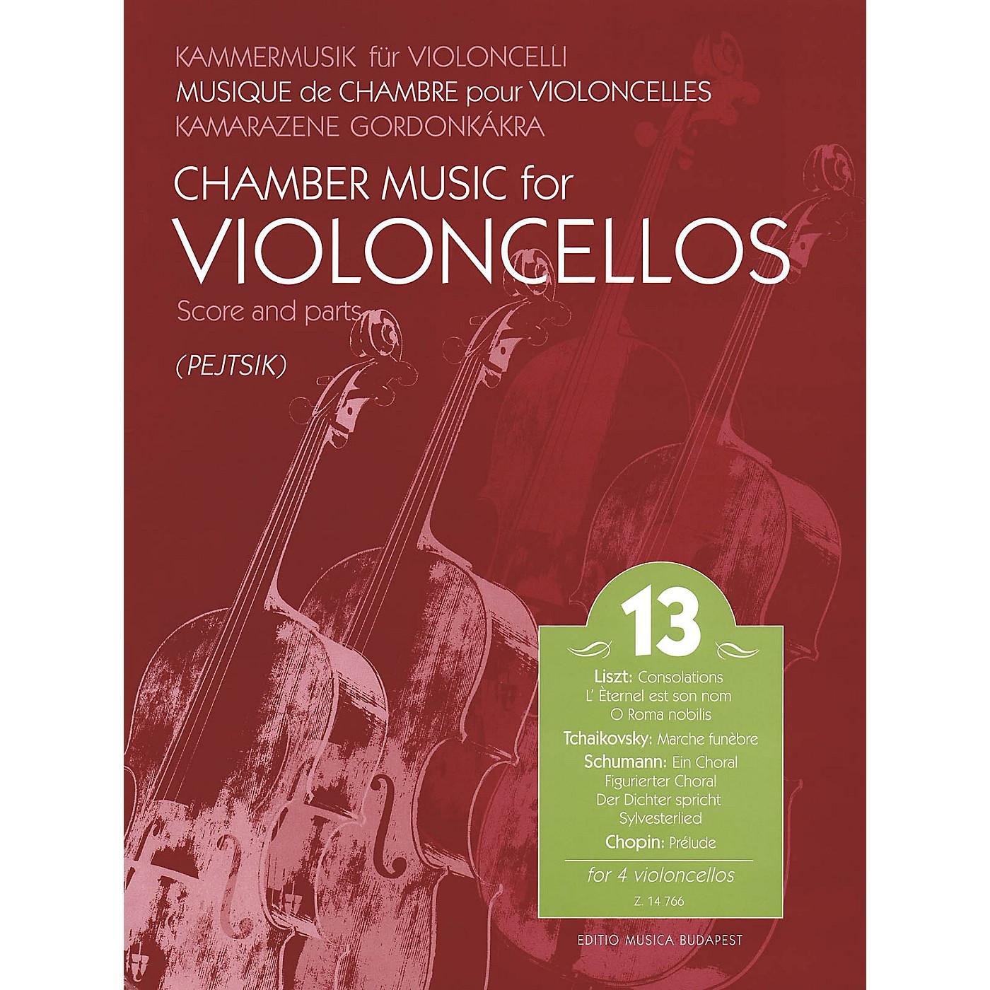 Editio Musica Budapest Chamber Music for Violoncellos, Vol. 13 (Cello Quartet) EMB Series thumbnail