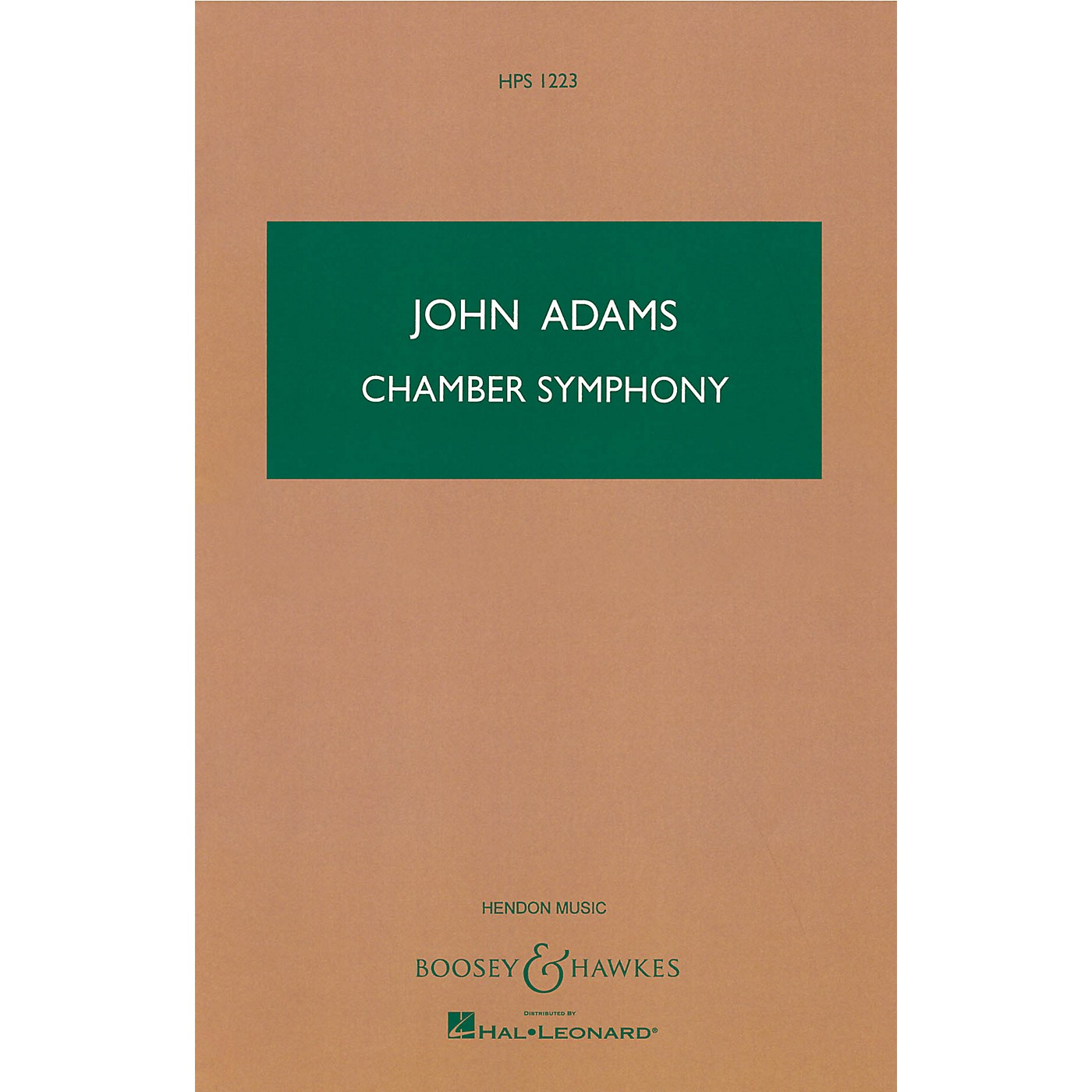 Boosey and Hawkes Chamber Symphony Boosey & Hawkes Scores/Books Series Composed by John Adams thumbnail